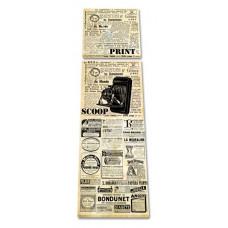 2-dielny obraz s hodinami, Print, 158x46cm