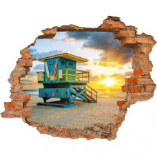 3D fototapeta, Beach, 125 x100cm