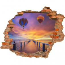 3D fototapeta, Balón, 125 x100cm