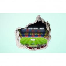 3D fototapeta, Camp Nou, 100 x100cm
