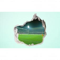3D fototapeta, Futbalový štadion, 100 x100cm