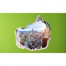 3D fototapeta, New York Panoráma, 100 x100cm