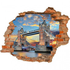 3D fototapeta, Tower Bridge, 125 x100cm