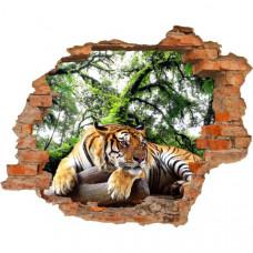 3D fototapeta, Tiger, 125 x100cm
