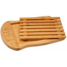 Bambusová doska na krájanie s miskou 5Five 0178, 34,5cm