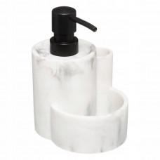 Dávkovač na tekuté mydlo Geomhygge 5Five 9238, biely