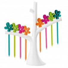 A-PRIL party set so stromom napichovátka, rôzne farby