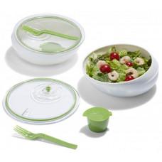 BLACK-BLUM Lunch Bowl, biela / zelená