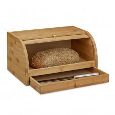 Bambusový chlebník so zásuvkou Bamboo, RD0230