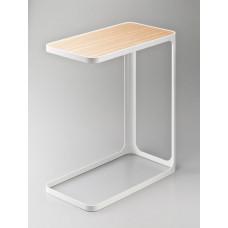 Bočný stolík Yamazaki Frame, biely