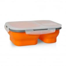 Box na jedlo Silikon tm-10, oranžový