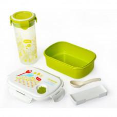 Box na jedlo + pohár na vodu, sada Promis