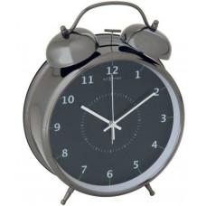 Budík 5111zw Nextime Wake Up 9cm