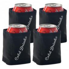 Cestovné chladiče plechoviek BALVI Cold Drinks, 4ks