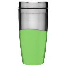 Cestovný termohrnček SAGAFORM Car Mug, zelený 0,4l