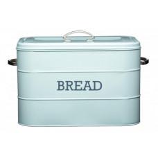 Chlebník KITCHEN CRAFT Bread Bin, modrý