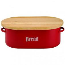Chlebník TYPHOON Vintage, červený