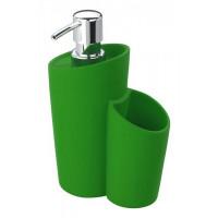 Dávkovač mydla Wenko, Soft, zelený