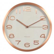 Designové nástenné hodiny 5578wh Karlsson 29cm