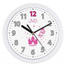 Detské nástenné hodiny JVD H12.4 25cm