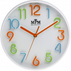 Detské nástenné hodiny MPM, 3224, 25cm