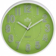 Detské nástenné hodiny MPM, 3228.40 - zelená, 20cm