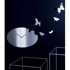 Diamantini & Domeniconi Butterfly Steel Super Mirror oval 60cm