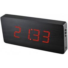Digitálny LED budík/ hodiny MPM s dátumom a teplomerom 3672.90,