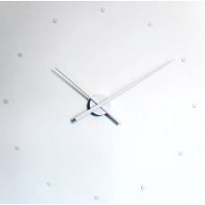 NOMON OJ  nástenné hodiny biele 50cm