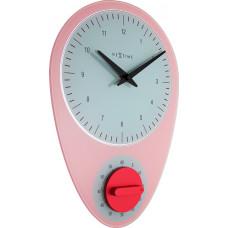 Dizajnové nástenné hodiny 3097rz Nextime Hans 28cm