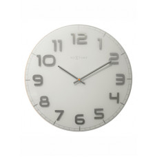 Dizajnové nástenné hodiny 3105wi Nextime Classy Large 50cm