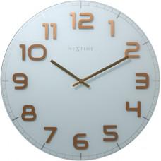 Dizajnové nástenné hodiny 3105wc Nextime Classy Large 50cm
