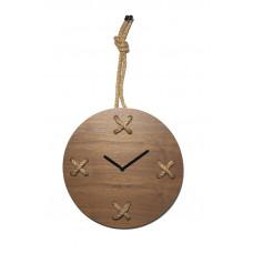 Dizajnové nástenné hodiny 3111br Nextime Stitch 58 cm