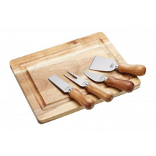 Doštička s nožmi na syr KITCHEN CRAFT Artesa Cheese Serving Set