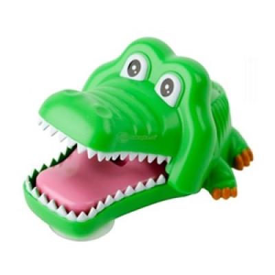 Držiak na kefku krokodíl - zelený