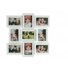Elegantný fotorámik na 9 fotiek, 52 x 52cm