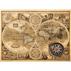 Fototapeta, Mapa, 315 x232cm