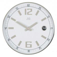 HC 01.1  Analógové nástenné hodiny JVD steel 30cm