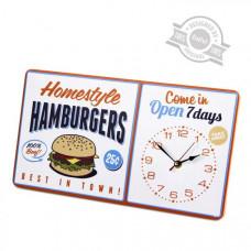 Hodiny Balvi Hamburgers 40cm