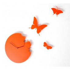 Hodiny Diamantini & Domeniconi Butterfly orange 40cm