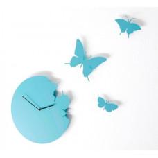Hodiny Diamantini & Domeniconi Butterfly sky blue 40cm