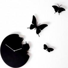 Hodiny Diamantini & Domeniconi Butterfly black 40cm
