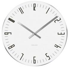 Nástenné hodiny Karlsson 4923, Slim index, 40cm