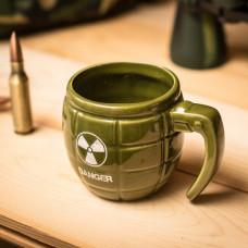 Hrnček Grenade Mug, zelený