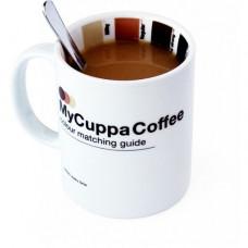 Hrnček s vzorkovníkom - káva
