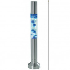Dizajnová lávová lampa 58 cm, modrá