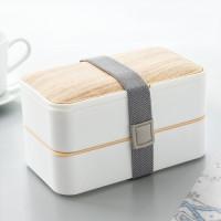 Dvojitý Obedový box s príborom InnovaGoods Hermetically Sealed In1220