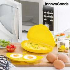 Forma na prípravu vajíčok do mikrovlnnej rúry InnovaGoods 0990