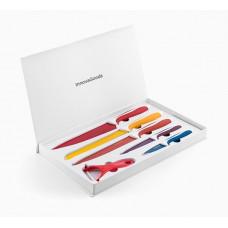 Sada keramických nožov so škrabkou InnovaGoods 0530