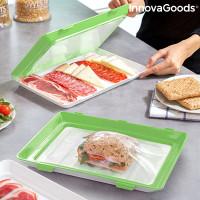 InnovaGoods Vacpack opakovane použiteľné zásobníky na jedlo (balenie po 2)